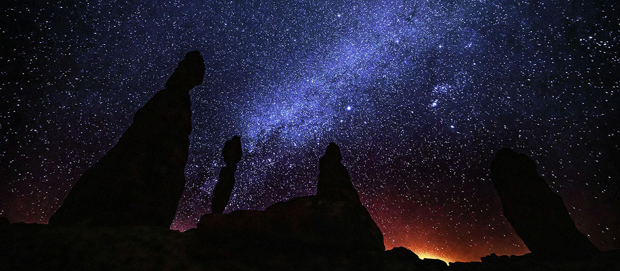 Stargazing in AlUla
